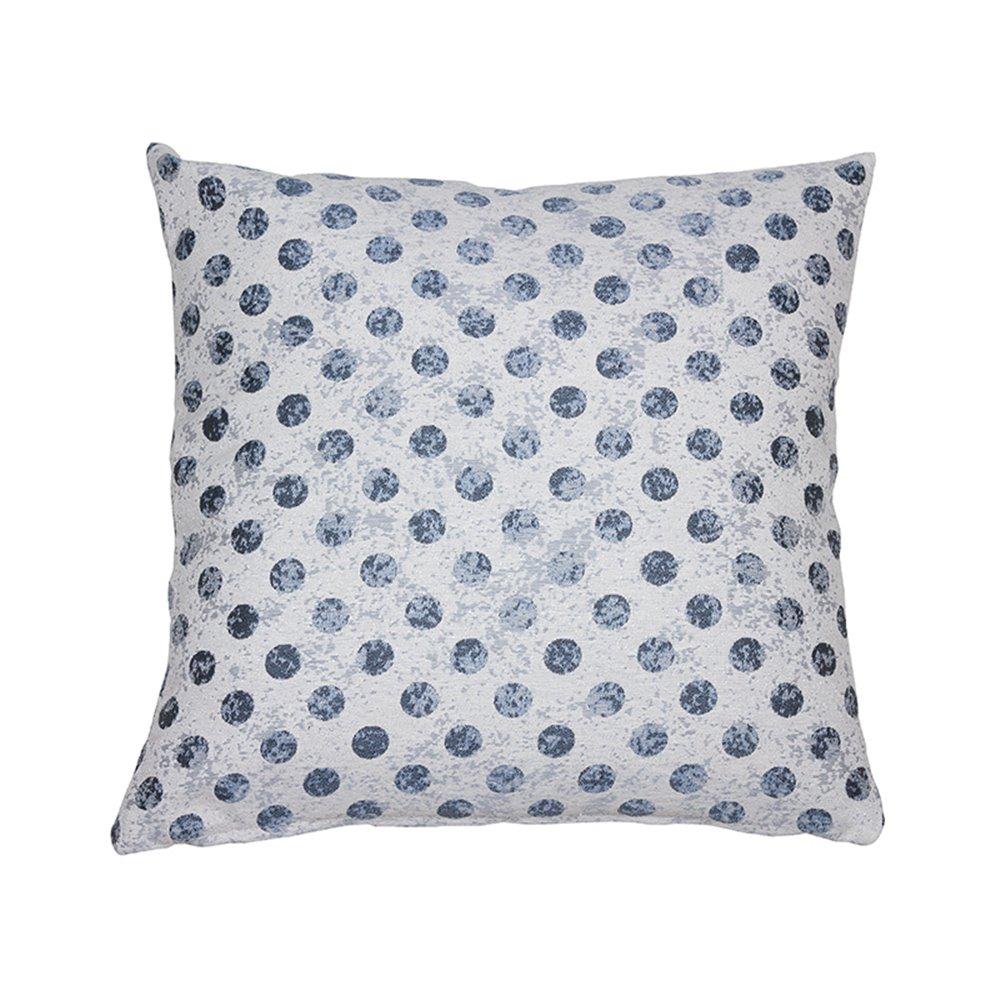 Coordinated cell cushion Aqua 45x45 cm