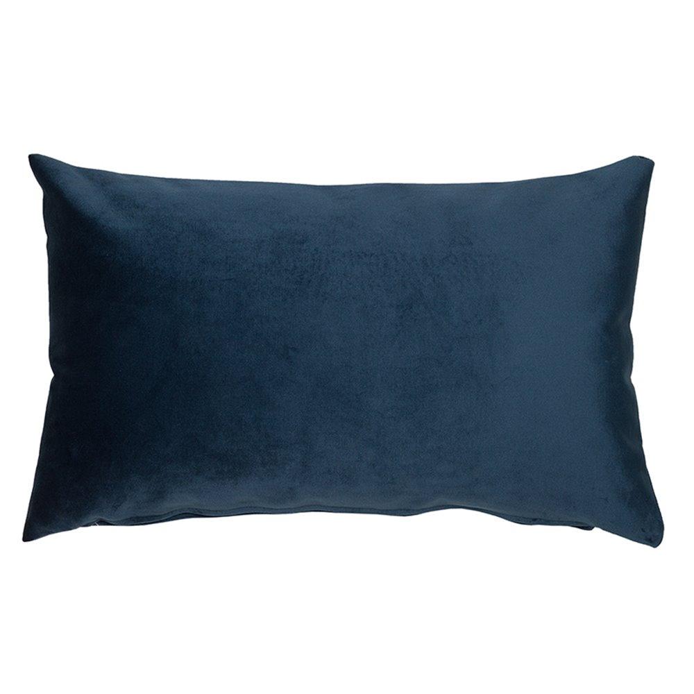 Cojín Velvet marino 30x50 cm