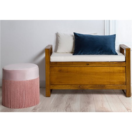 Marine Velvet cushion 30x50 cm