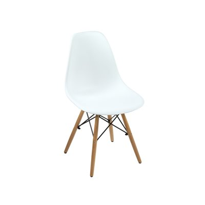 White ABS chair
