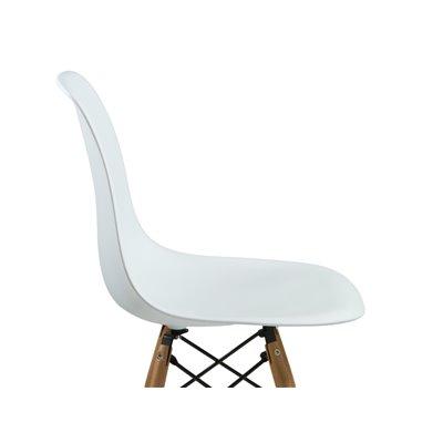 Cadira ABS blanca i hi haja