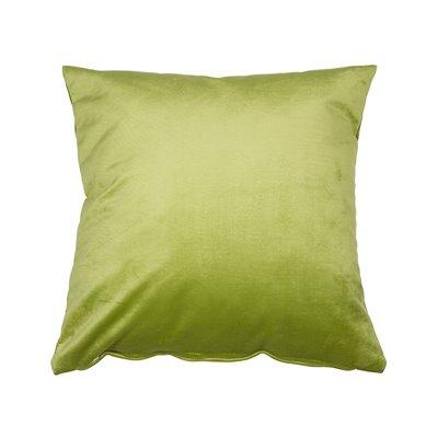 Velvet cushion pistachio 45x45 cm