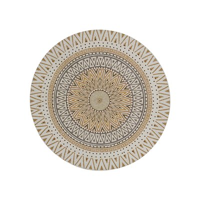 Round mandala painting
