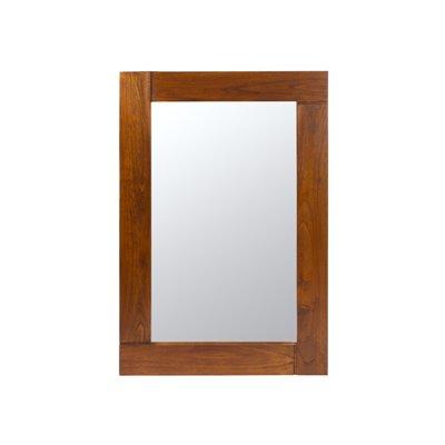 Espello parede Nature nogueira