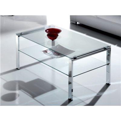 Table basse en verre Aremi