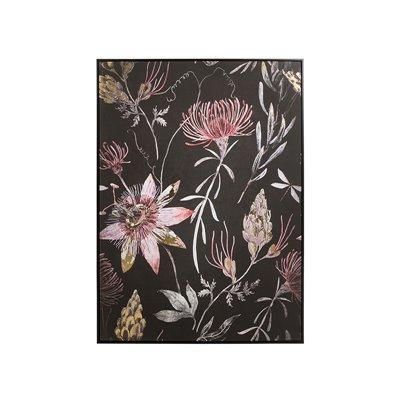 Peinture à l'huile de fleurs
