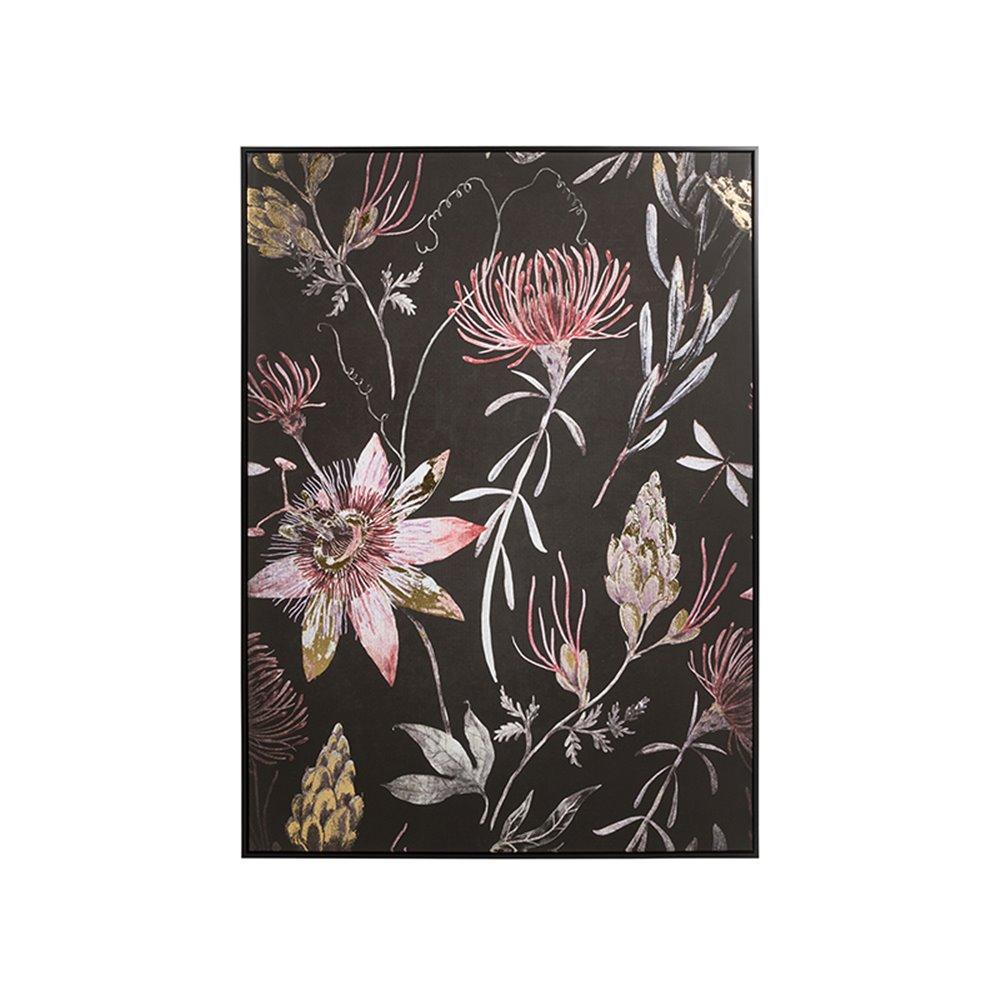 Cadro óleo flores