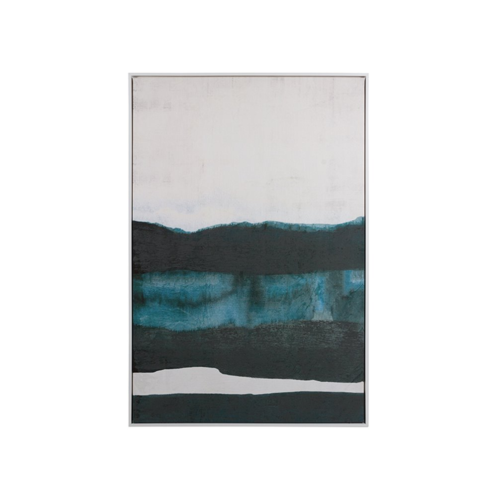 Cuadro óleo abstracto