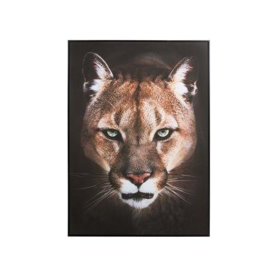 Cuadro óleo leona