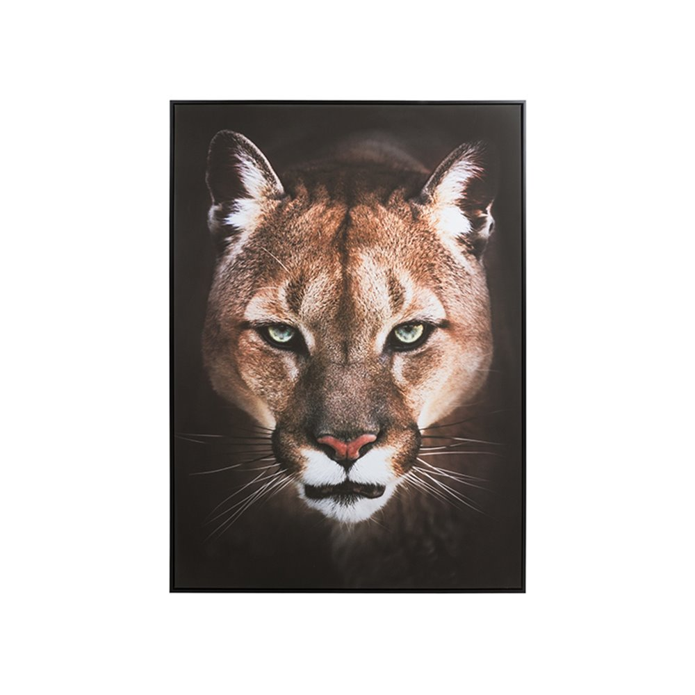 Lioness oil painting