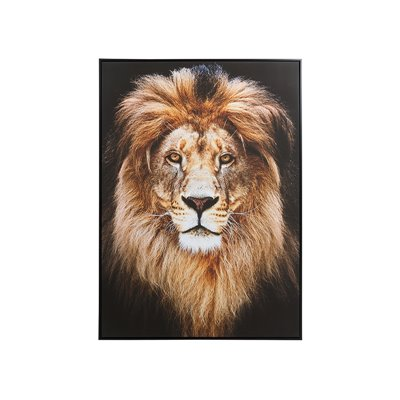 Cuadro óleo león