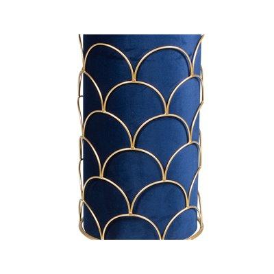 Blue floor lamp
