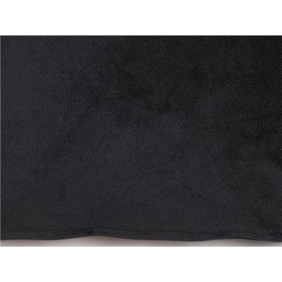 Coxín Velvet negro