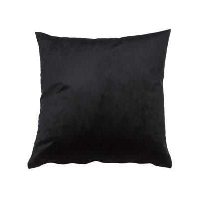 Coixí Velvet negre