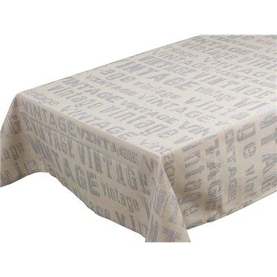 Vintage silver tablecloth
