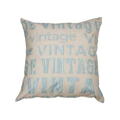 Vintage Aqua Cushion