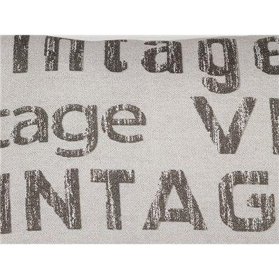 Cojín Vintage plomo