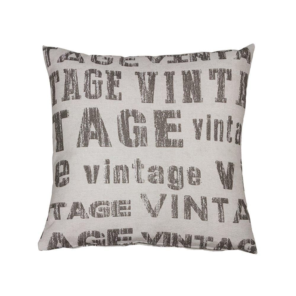 Vintage lead cushion
