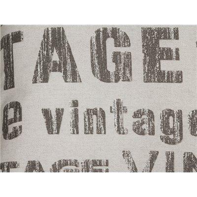 Coxín Vintage chumbo