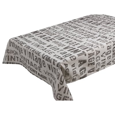 Vintage tablecloth lead