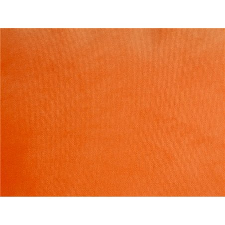 Coxín Velvet laranxa