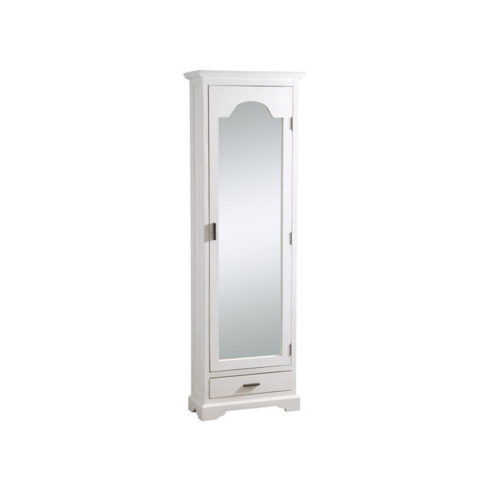 Zapatero con puerta de espejo