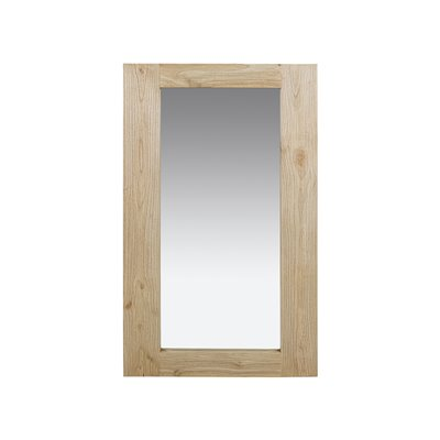 Vertical clear mirror