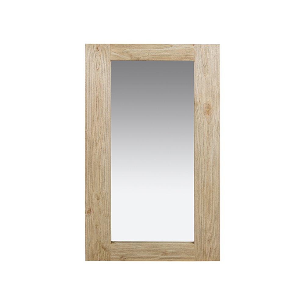 Vertical clear mirror