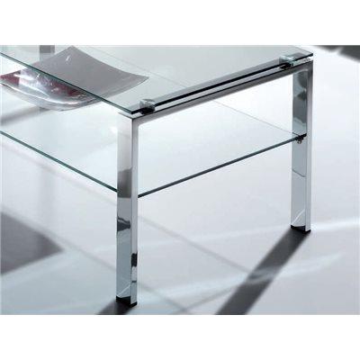 Mesa de centro de cristal Aremi
