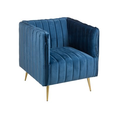 Armchair Art blue