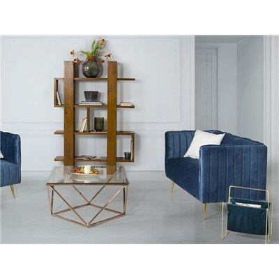 Blue Art Sofa
