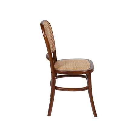 Round grid chair