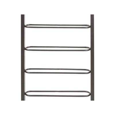 Metal wine rack for the wall
