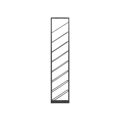 Garrafeira de metal para a parede