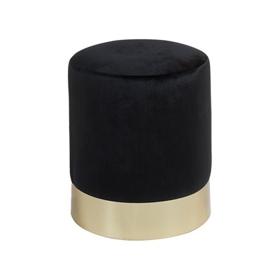 Black gold stool