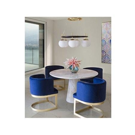 Mesa de comedor redonda Petals