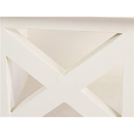 Moble blanc de 4 calaixos