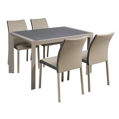 Tischset und 4 Stühle