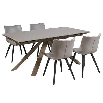 Conjunt de taula i 4 cadires
