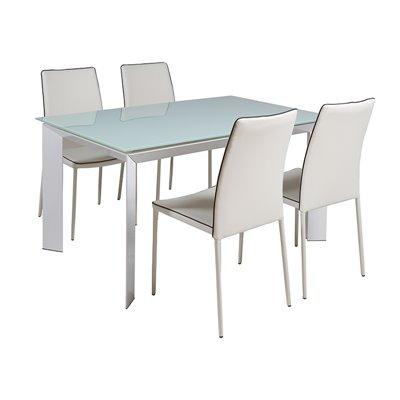 Conxunto de mesa e 4 cadeiras