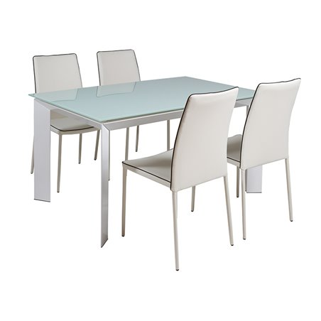 Table set and 4 chairs