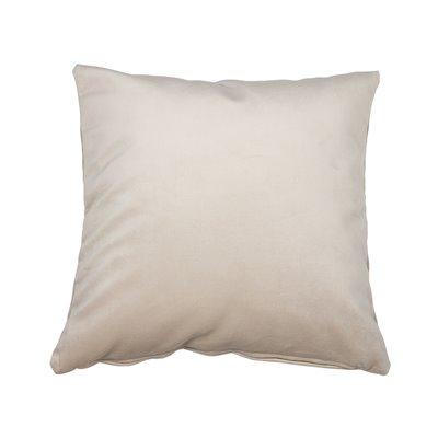 Coussin Velvet beige 45x45 cm