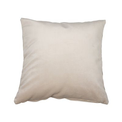 Coxín Velvet beige 45x45 cm