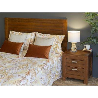 Velvet cushion beige 45x45 cm