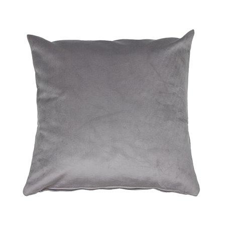 Cojín Velvet gris 45x45 cm