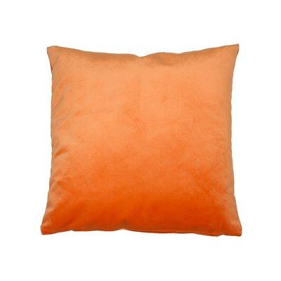 Coussin Velours Orange