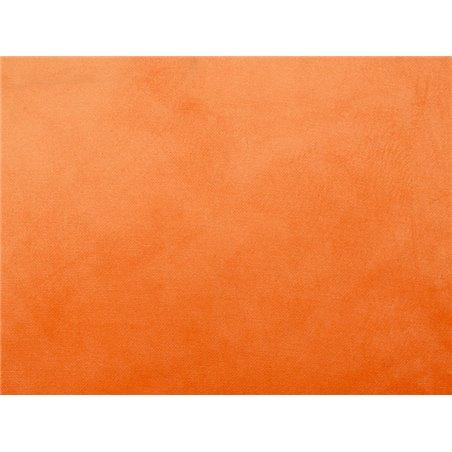 Coixí Velvet taronja
