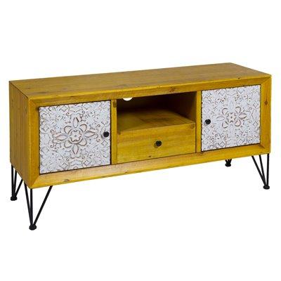 Nara shabby chic style television table