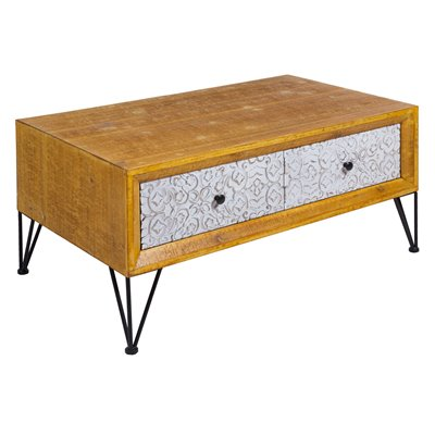 Nara shabby chic coffee table
