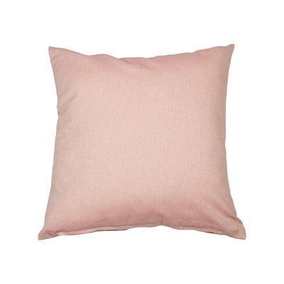 Coussin Old Panama rose 60x60 cm